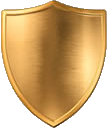 Brass Shield by Vega Discoveries